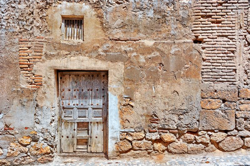 Antique door royalty free stock image