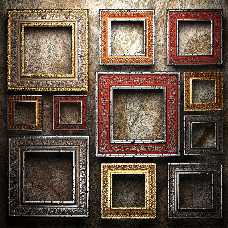 Antique Ornament Frame Royalty Free Stock Image