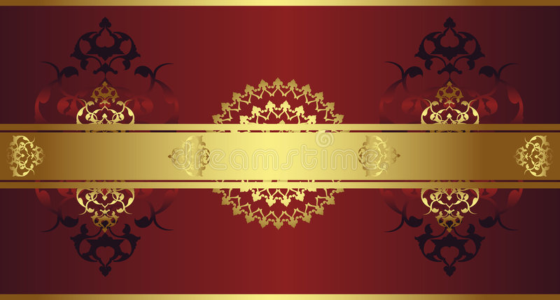 Download Antique Ottoman Gold Design Stock Vector - Image: 8791760