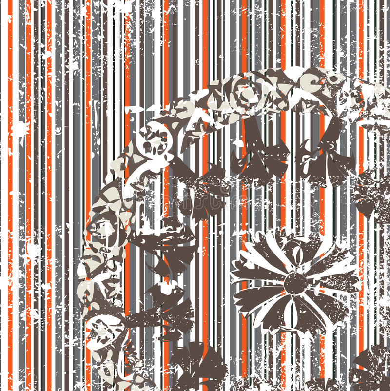 Download Antique Ottoman Grungy Wallpaper Raster Design Stock Vector - Illustration of foliage, decor: 10272697