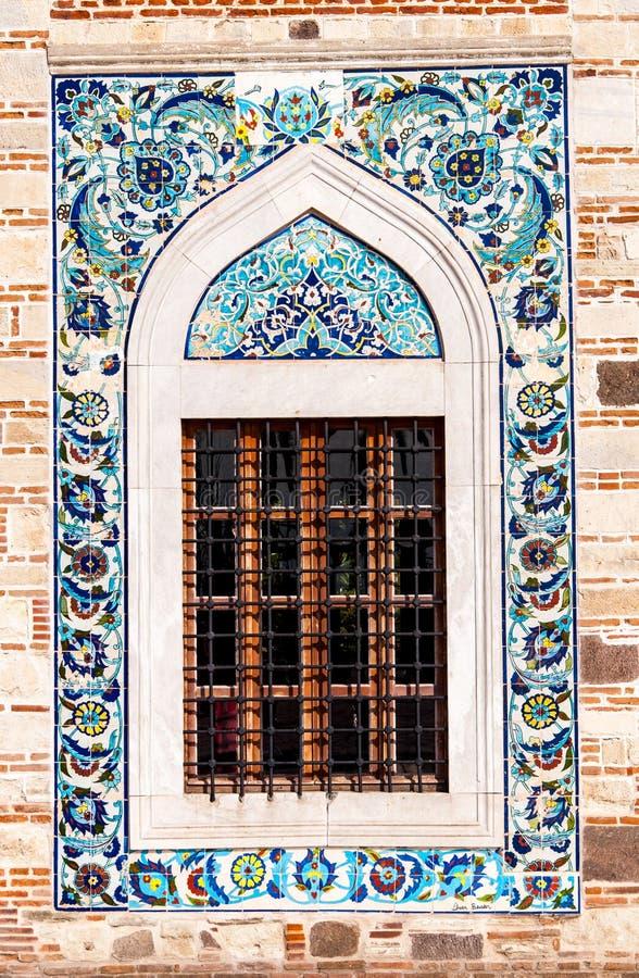 Antique ottoman style window royalty free stock photos