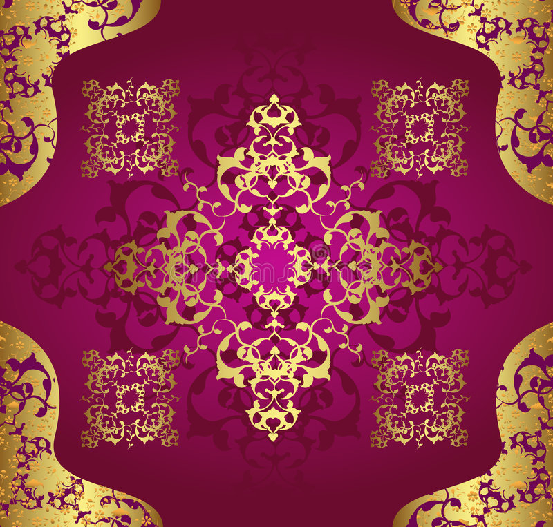 Download Antique Ottoman Wallpaper Illustration Design Stock Vector - Image: 8616533