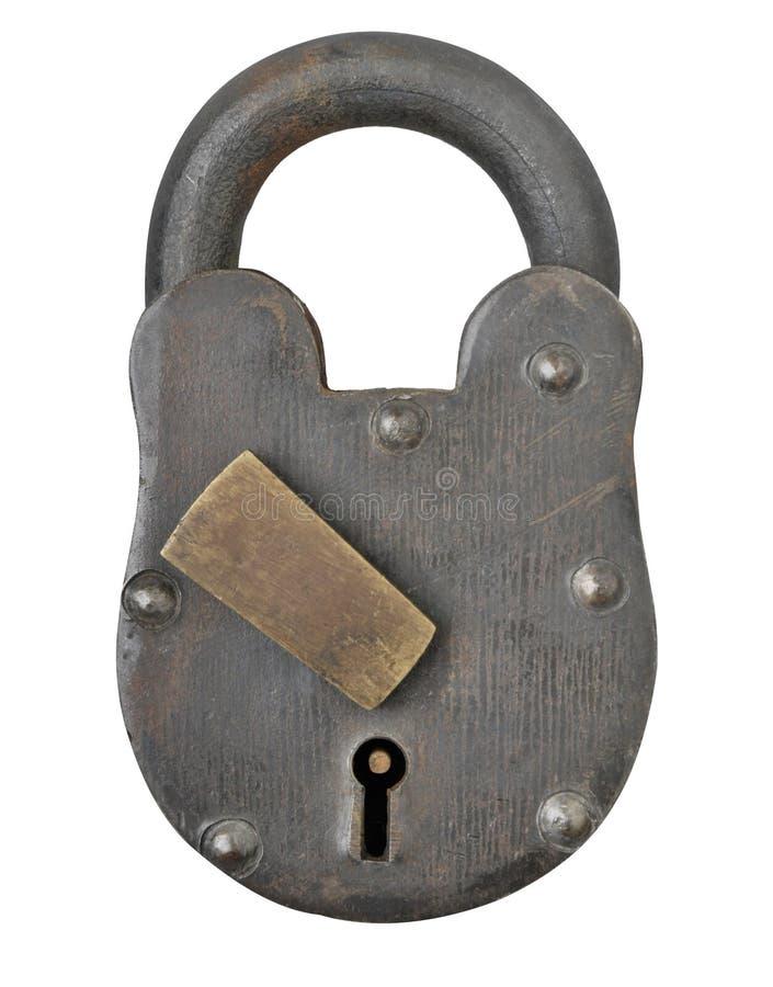 Download Antique Padlock stock illustration. Image of safety, padlock - 14853254