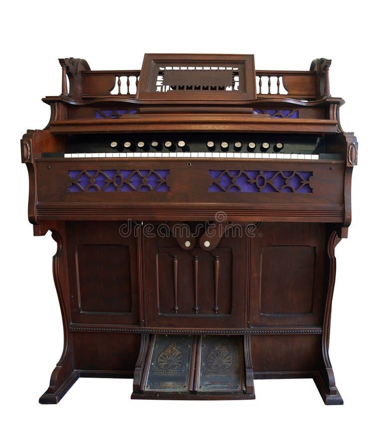 Antique Pedal Organ royalty free stock photo