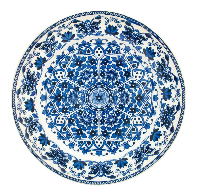 Free Antique Persian Design Plate Royalty Free Stock Photography - 5967637
