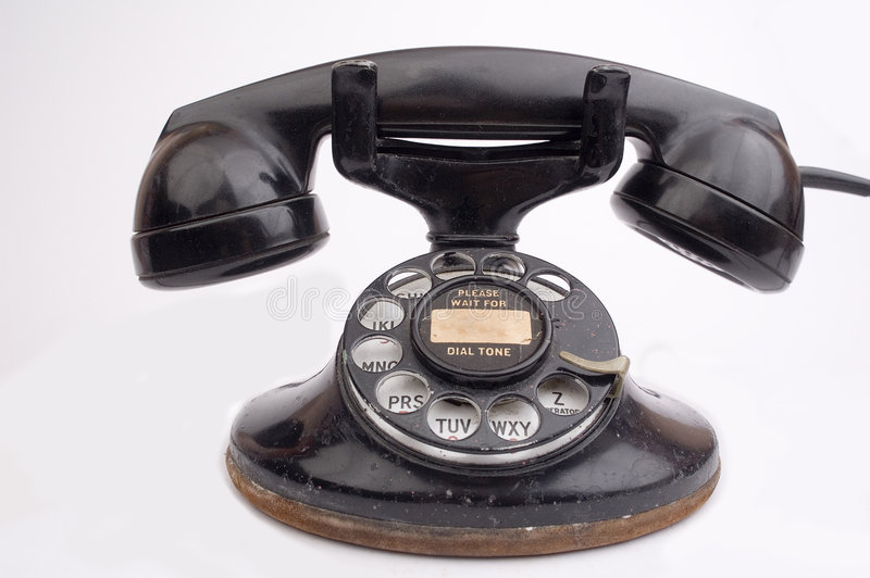 Download Antique phone stock photo. Image of network, call, receiver - 1720462
