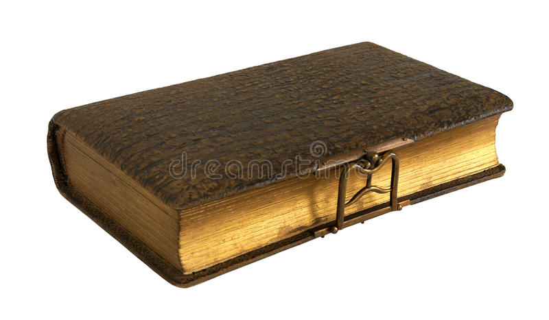 Antique photo album stock photo