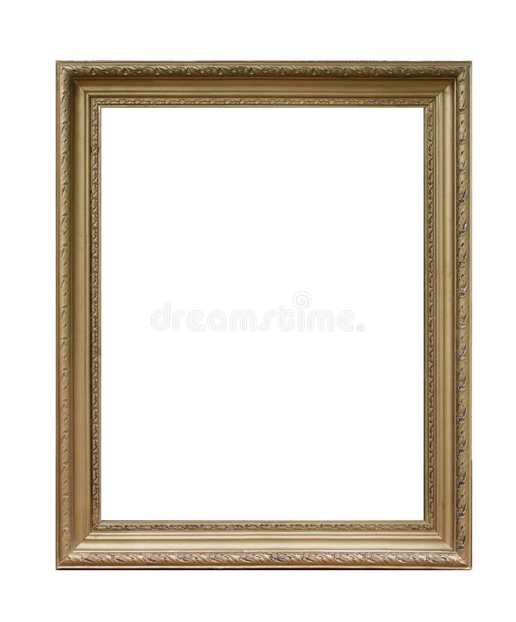 Download Antique photo frame stock photo. Image of decorate, cutout - 15250944