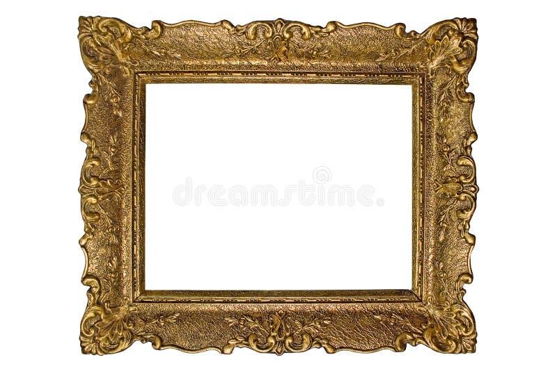 Antique photo frame stock photography