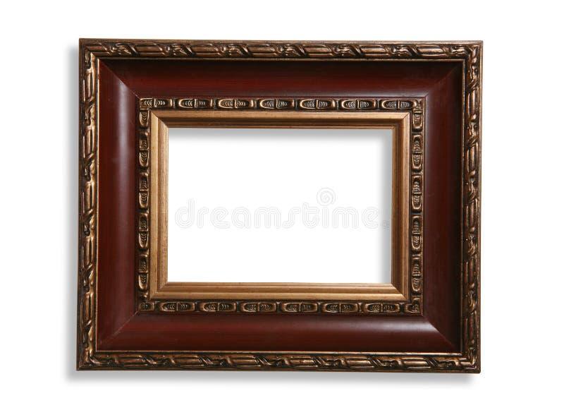 Antique Photo Frame stock image