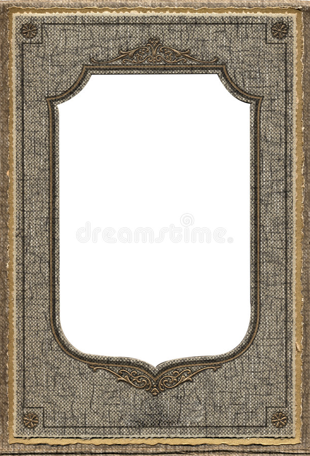 Download Antique photo frame stock image. Image of portrait, page - 355987
