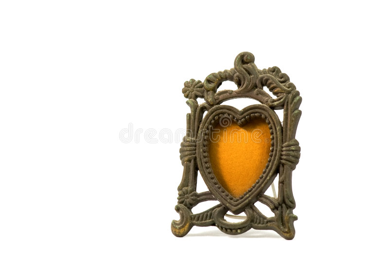 Download Antique photo frame stock photo. Image of decoration, painted - 7723772