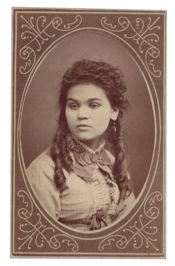 Free Antique Photograph Portrait Woman Royalty Free Stock Image - 23073946