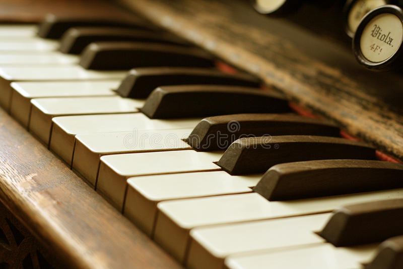 Antique Piano Royalty Free Stock Photo