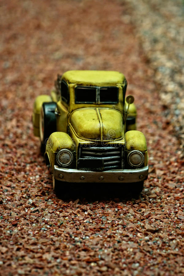 Download Antique Pick-up Car Miniature Stock Image - Image: 23147737