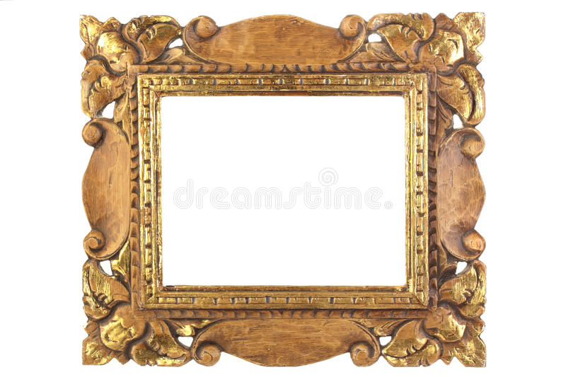 Download Antique picture frame. stock image. Image of picture - 16820405
