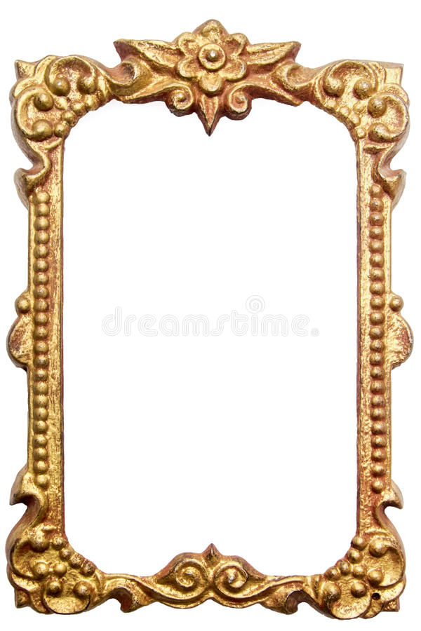 Download Antique picture frame stock photo. Image of copper, metal - 28136126