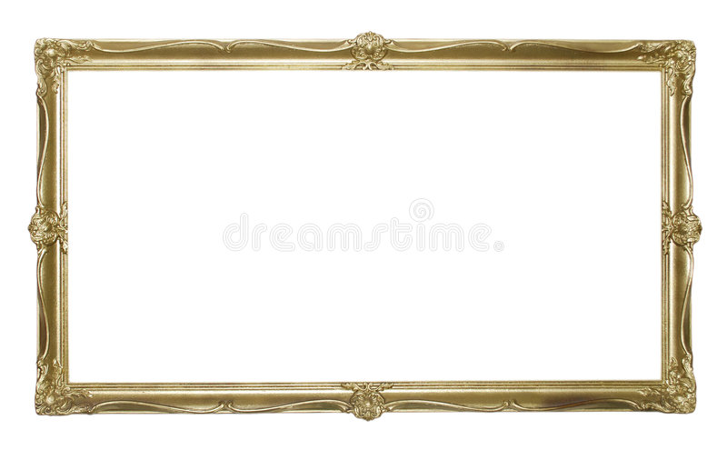 Antique Picture Frame royalty free stock photography