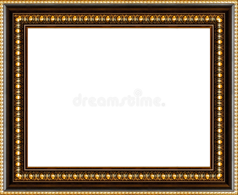 Download Antique Picture Frame Isolated Stock Image - Image: 795579
