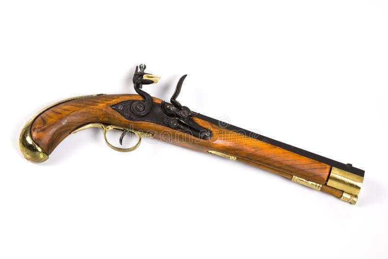 Download Antique Pistol 5 stock image. Image of iron, firearm, barrel - 421271