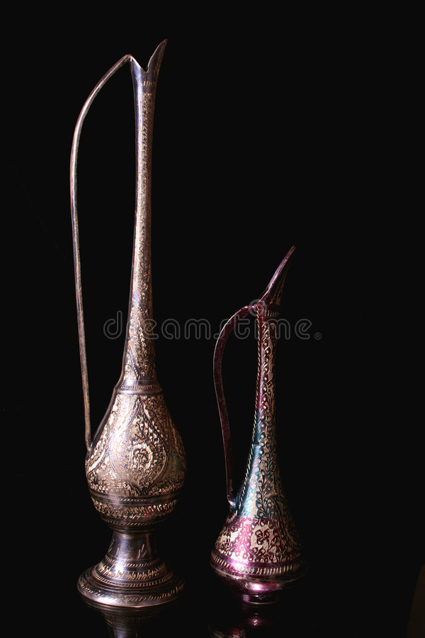 Antique Pitchers Stock Image Image Of Decorative Made 539397