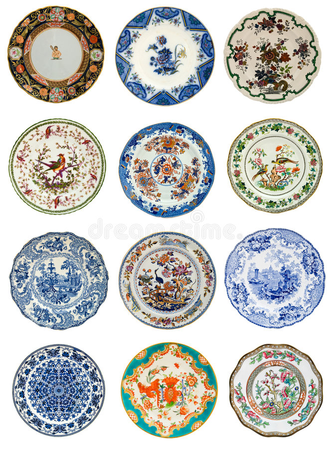 Antique Plate Images stock images