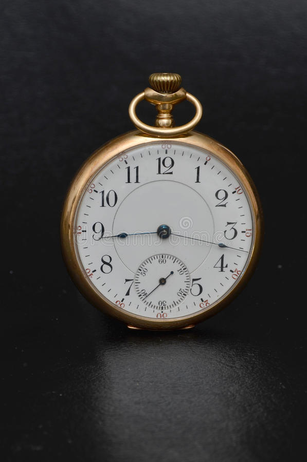 Download Antique Pocket Watch stock image. Image of minuets, seconds - 24093729