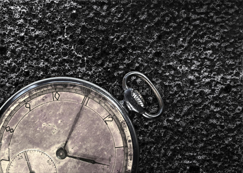 Antique pocket watch stock images