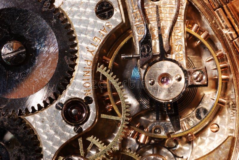 Download Antique Pocket Watch Interior Stock Photo - Image: 3329384