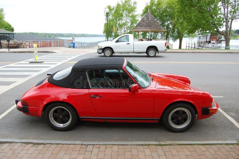 Antique Porsche Carrera 911 royalty free stock photos