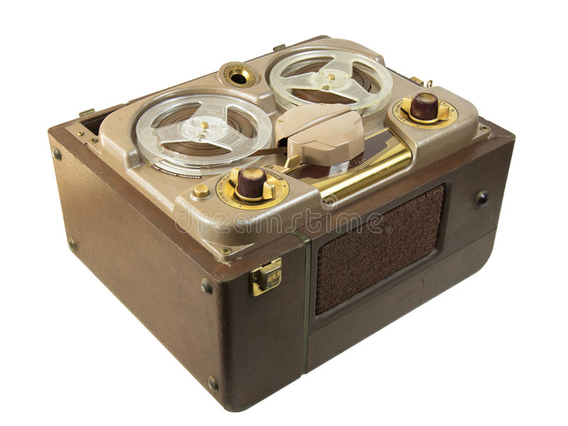 Old fashioned tape recorder 46