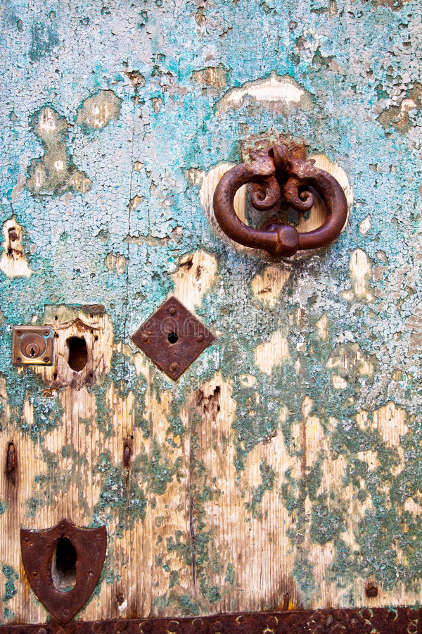 Download Antique portal stock photo. Image of cracked, handle - 26354206