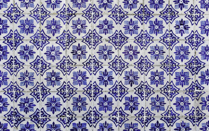 Download Antique Portuguese tiles stock image. Image of background - 26117881