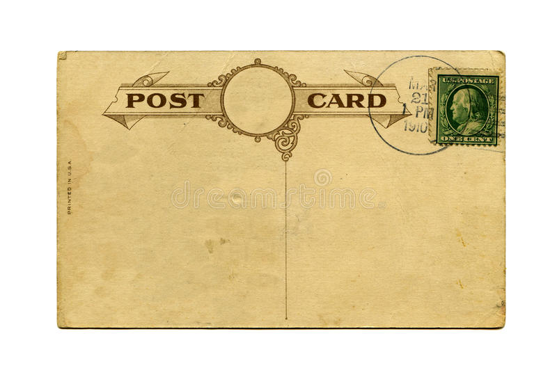 Download Antique postcard stock photo. Image of communication - 14775690