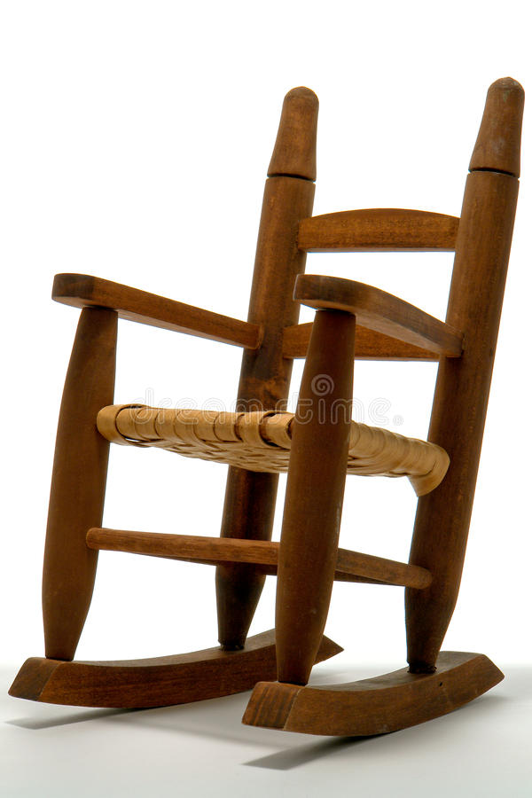 Download Antique Reproduction Toy Rocking Chair Stock Image   Image Of  Small, Seat: 16356521