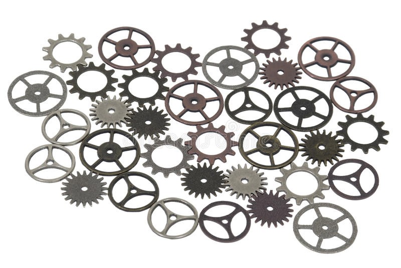 Antique and Retro Gears royalty free stock images