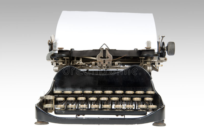 Download Antique Retro Typewriter stock photo. Image of contract - 3709554