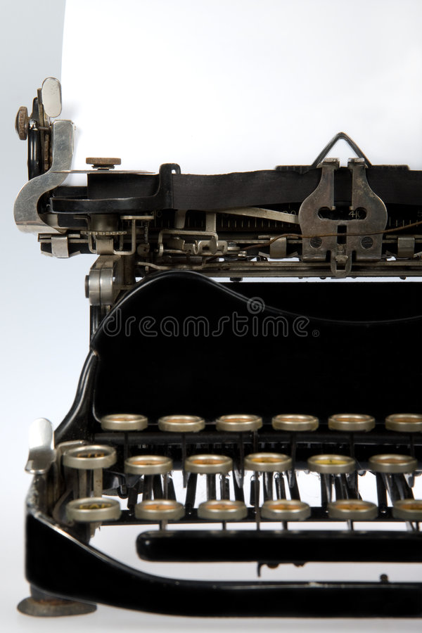 Download Antique Retro Typewriter Close-up Stock Image - Image: 3709557