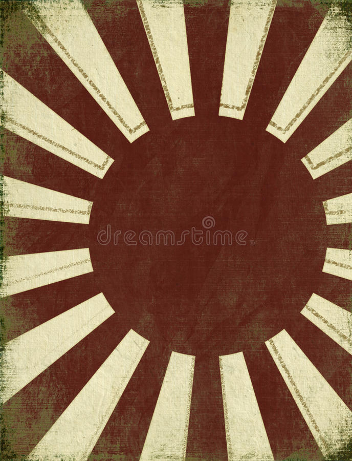 Free Antique Rising Sun Background Royalty Free Stock Photos - 17646788