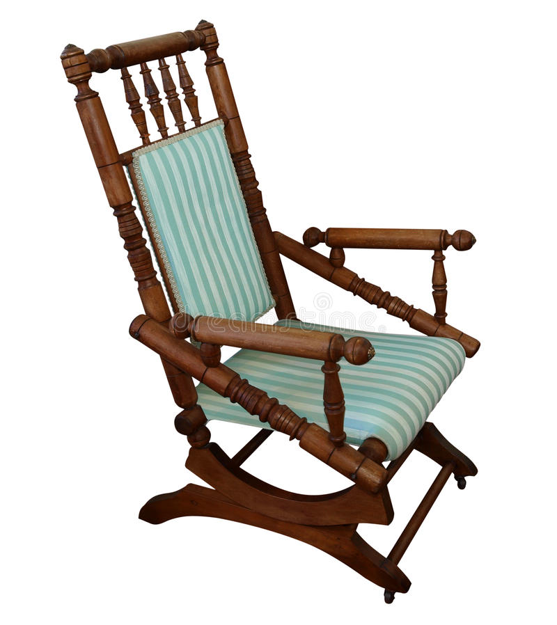 Download Antique Rocking Chair stock image. Image of armchair - 18775451