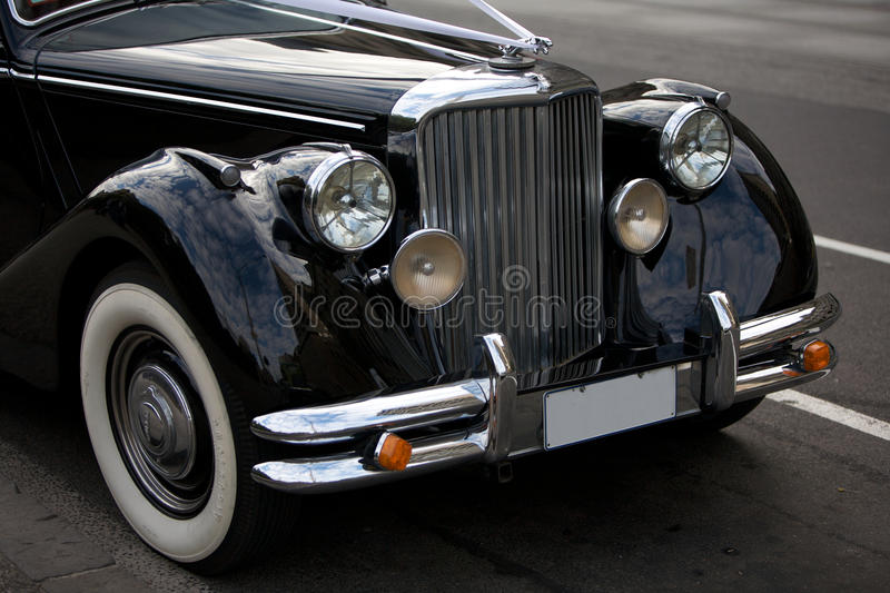 Antique Rolls Royce Emblem On Car Editorial Stock Image Image Of