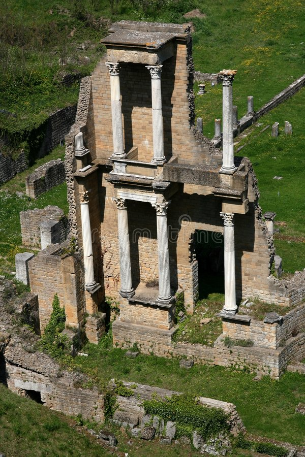 Free Antique Roman Theatre Stock Photo - 5057030