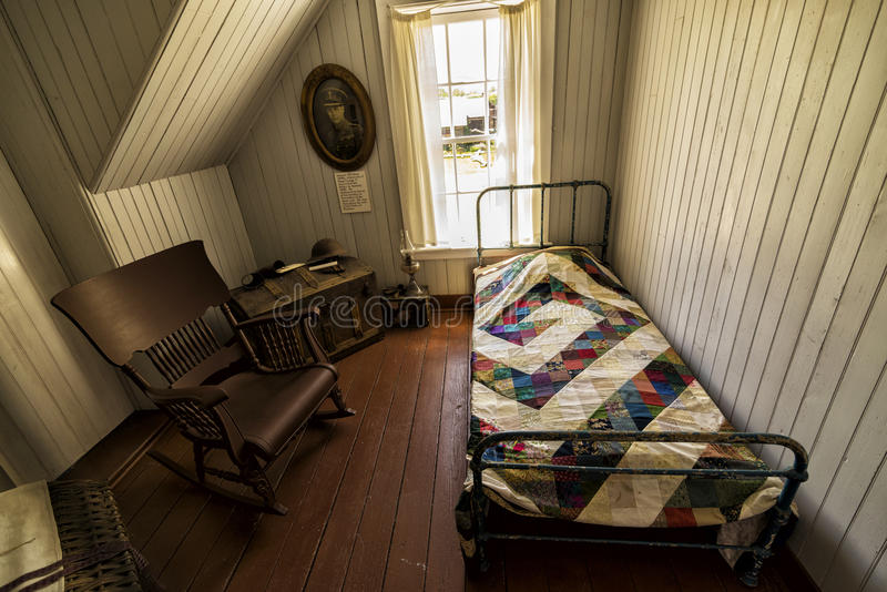 Antique room Pandosy mission site. The first non-native settlement in the Okanagan Valley was a mission established on this site in 1859 by Father Pandosy. Take stock image