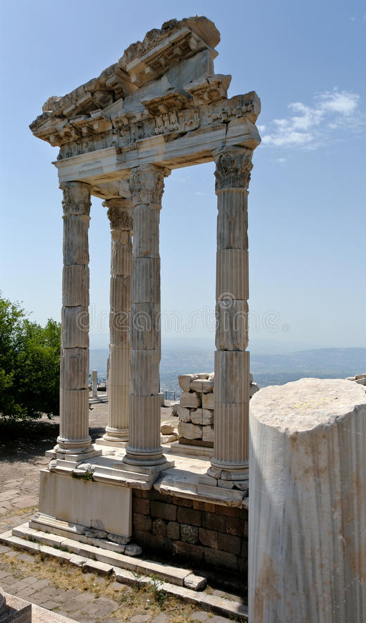 Antique Ruins In Ephesus Royalty Free Stock Photo