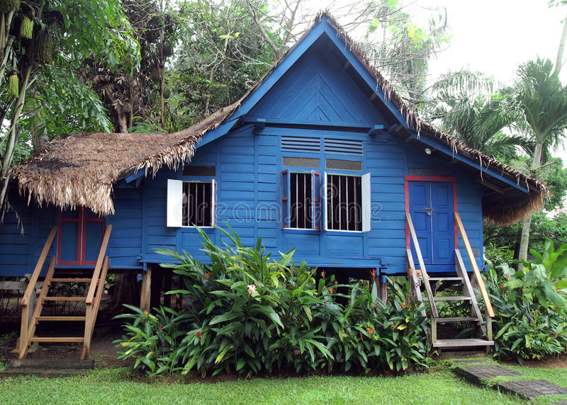 Download Antique Rural Malaysian Wooden House Stock Image - Image: 20960487