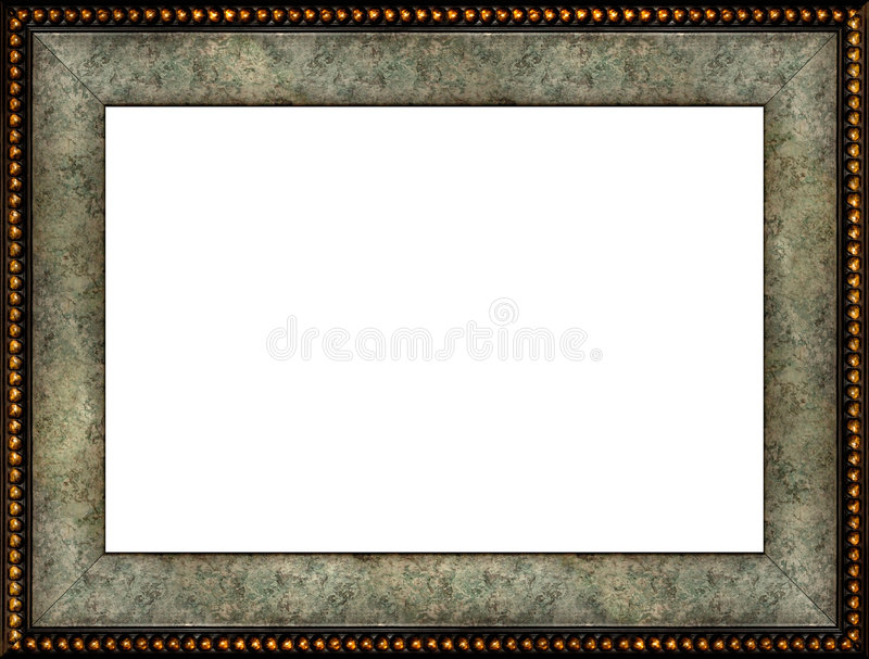 Download Antique Rustic Marble Picture Frame Stock Photography - Image: 1027492