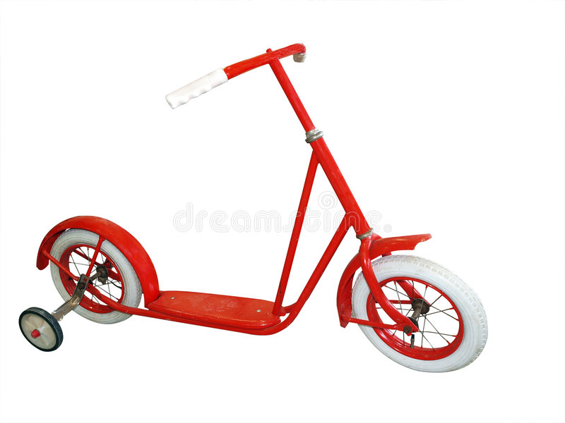 Download Antique Scooter stock image. Image of vintage, handlebars - 9121269