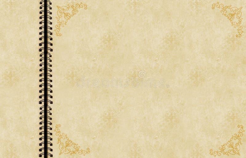 Antique scrapbook stock images