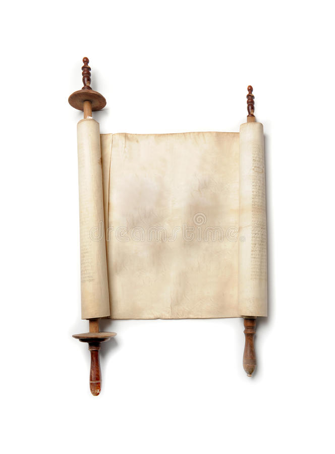 Antique scroll royalty free stock photo