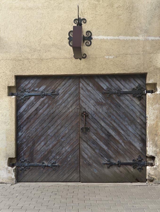 Download Antique Shop Door (or Garage) In Riga Stock Photo - Image: 20133324